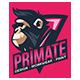 The primate printing logo