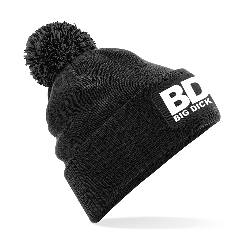BDM Black Bobble Hat