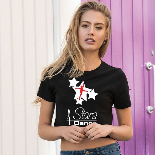 4 Stars Dance Black T-Shirt