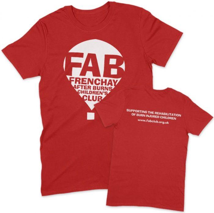 FAB red unisex t-shirt