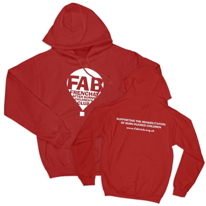 FAB red hoodie