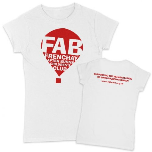 Fab white women's t-shirts