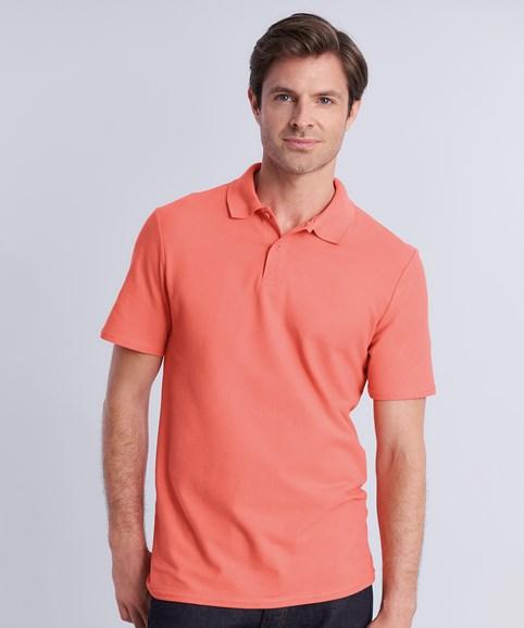 A man modelling a polo shirt