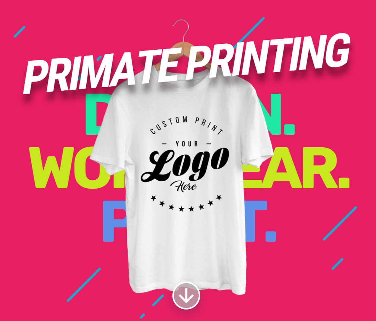 Primate Printing Your Logo Here T-Shirt