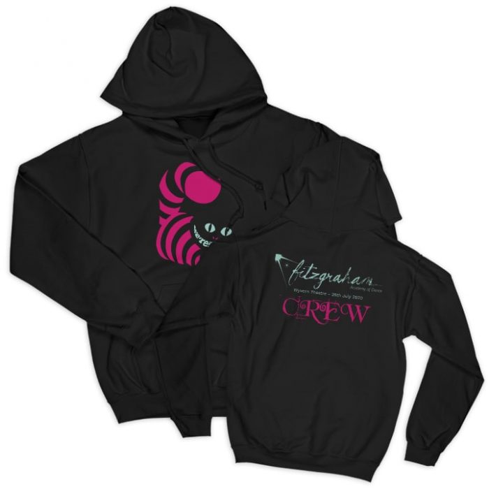 FITZGRAHAM black unisex hoodie