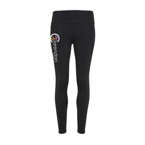 Calrendon dance black leggings