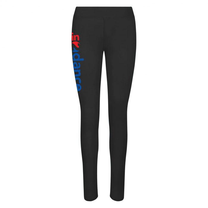 In2Dance black leggings