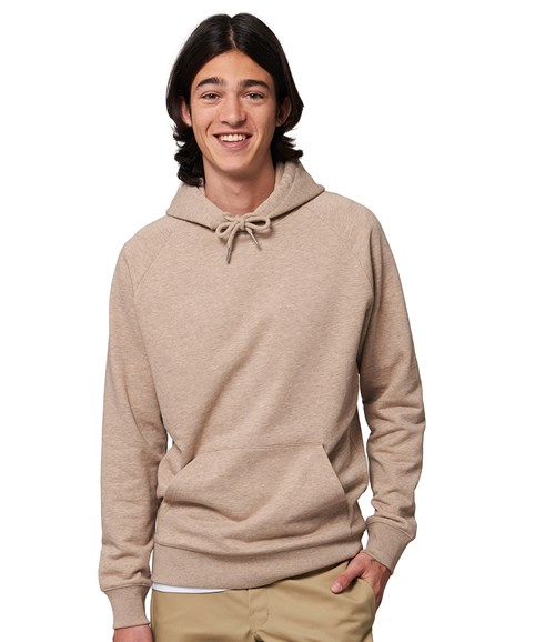 A man modelling a hoodie