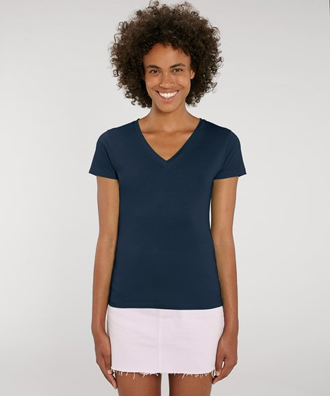 A woman modelling a t-shirt