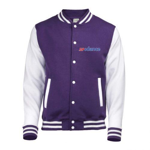 In2Dance Purple varsity jacket